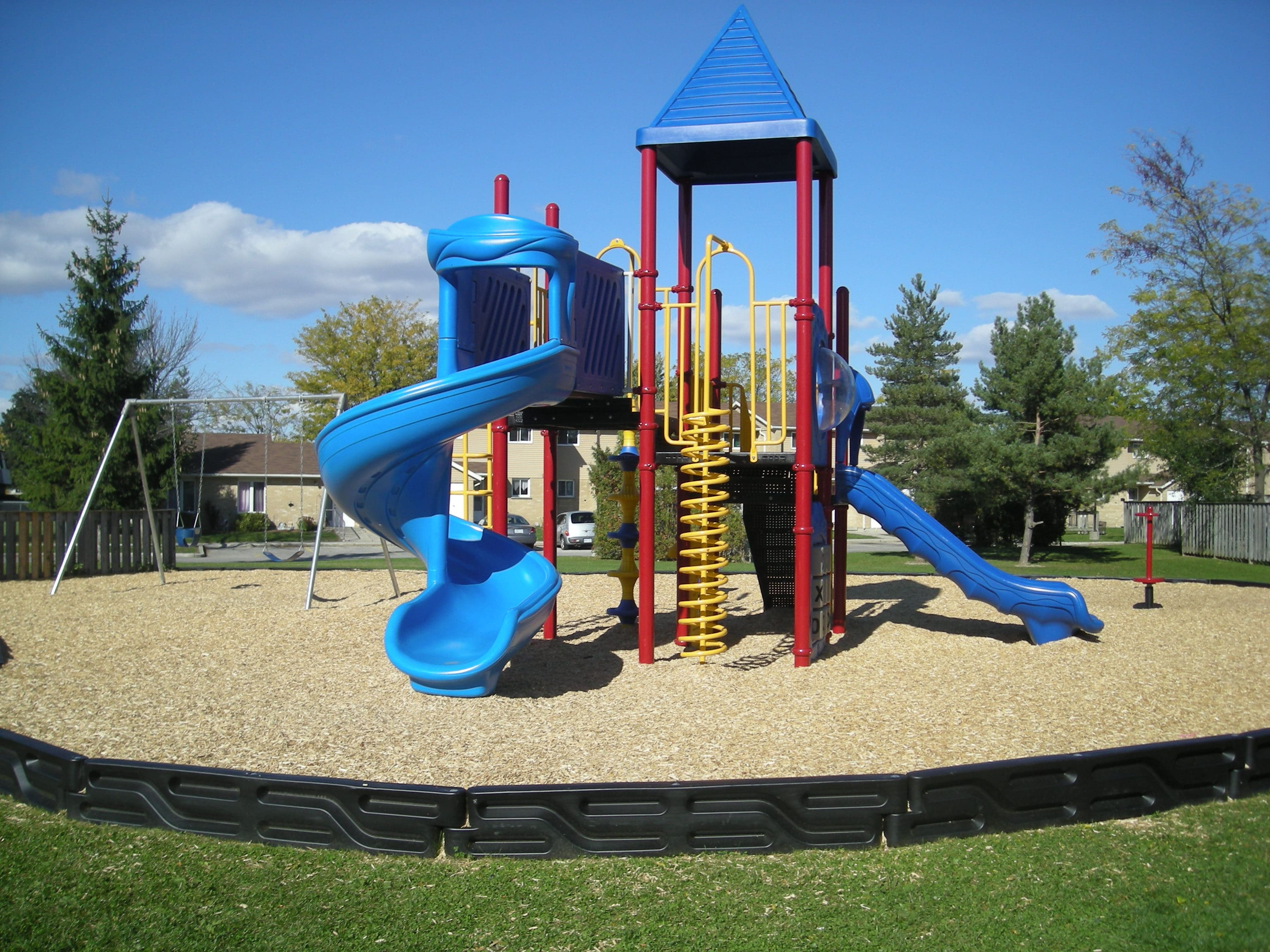 Play Equipment Large Blue