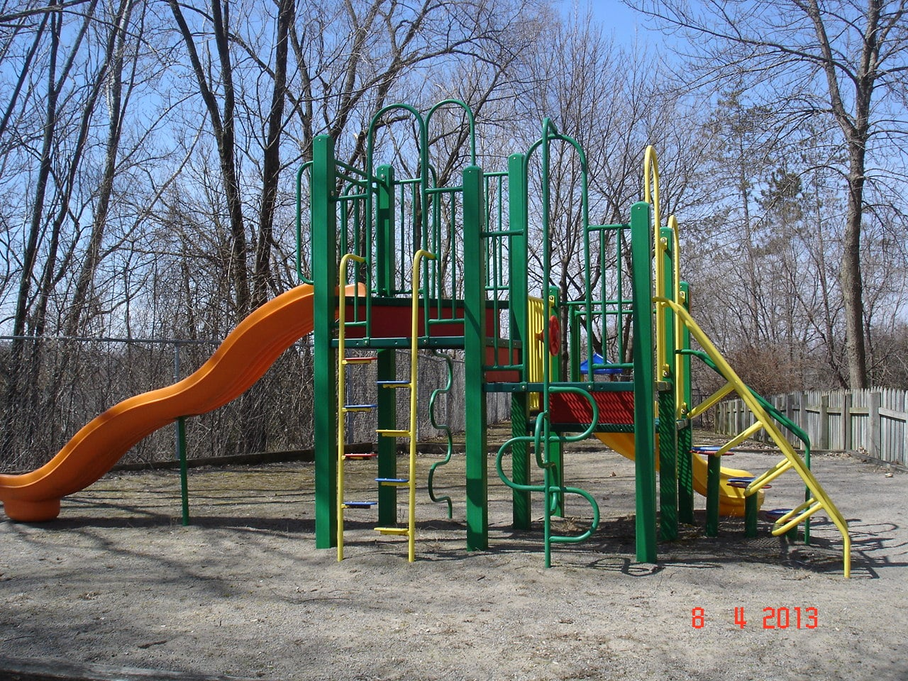 Large Play Equipment Green