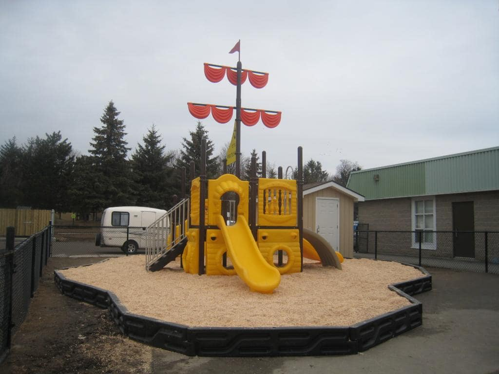 Play Equipment Sail Boat Pirate