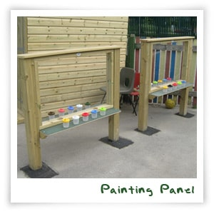 Play Equipment Paint Panel