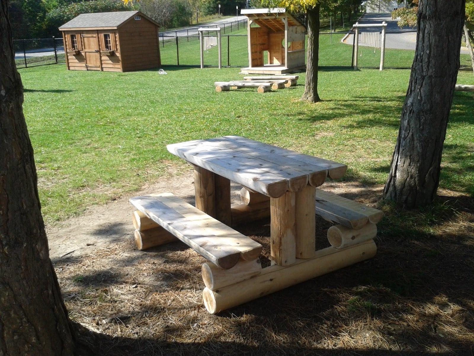 Play Equipment Picnic Table