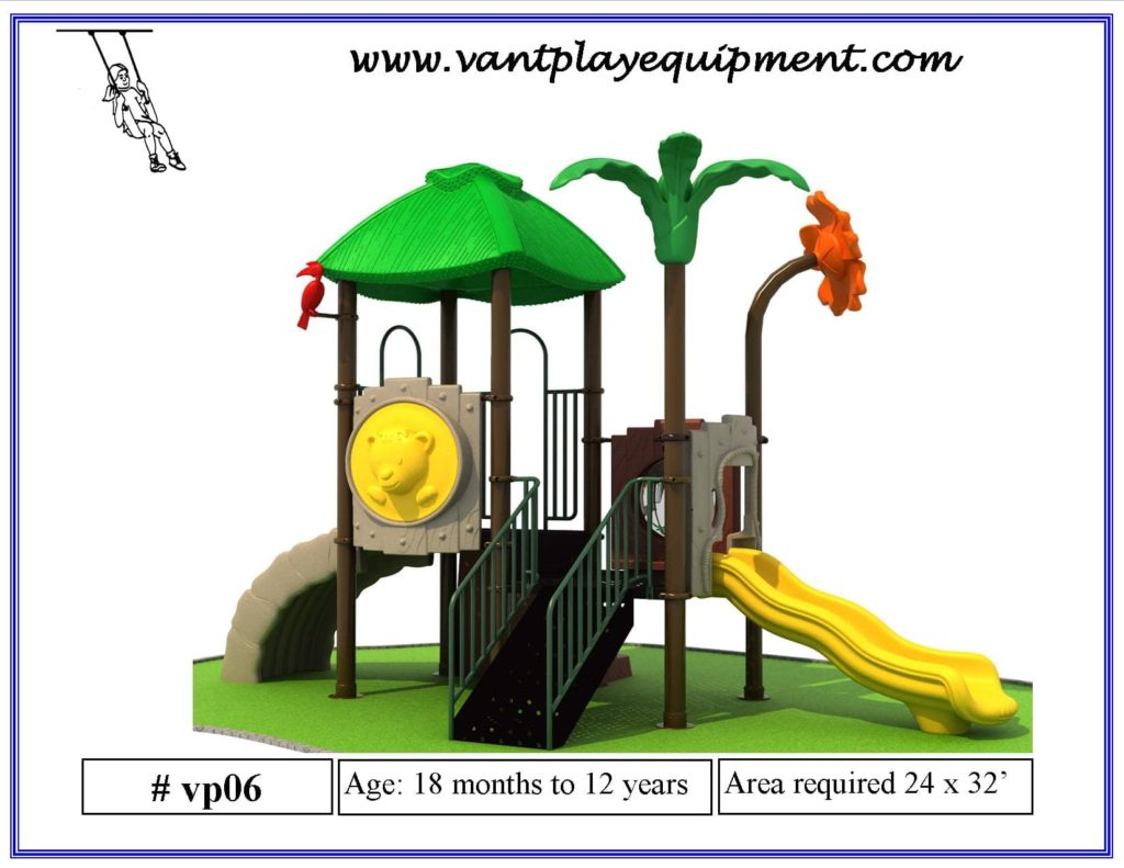 Play Equipment Small Jungle Theme