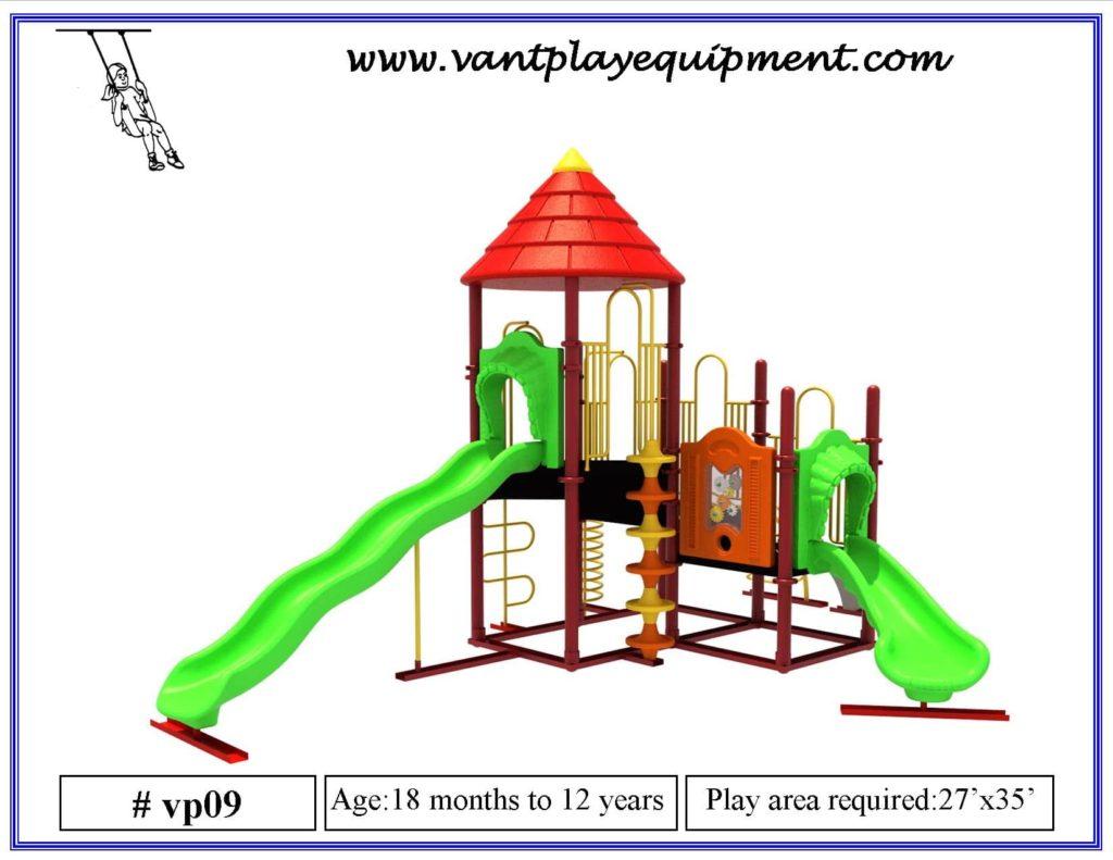 Play Equipment Large Slide