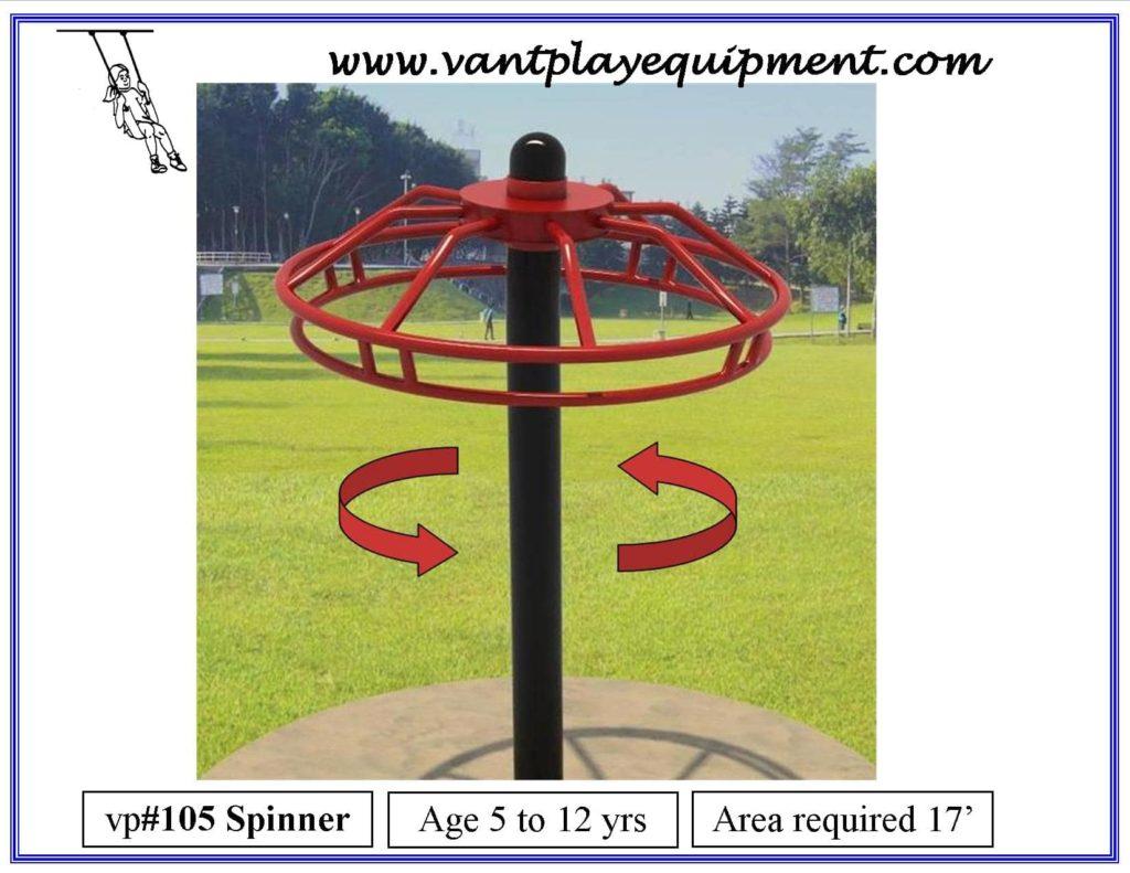 Play Equipment Spinner