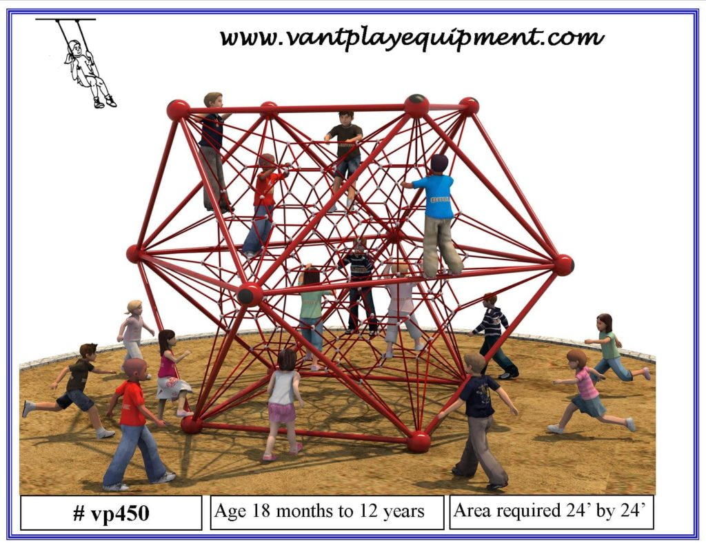 Play Equipment Large Climber Bars