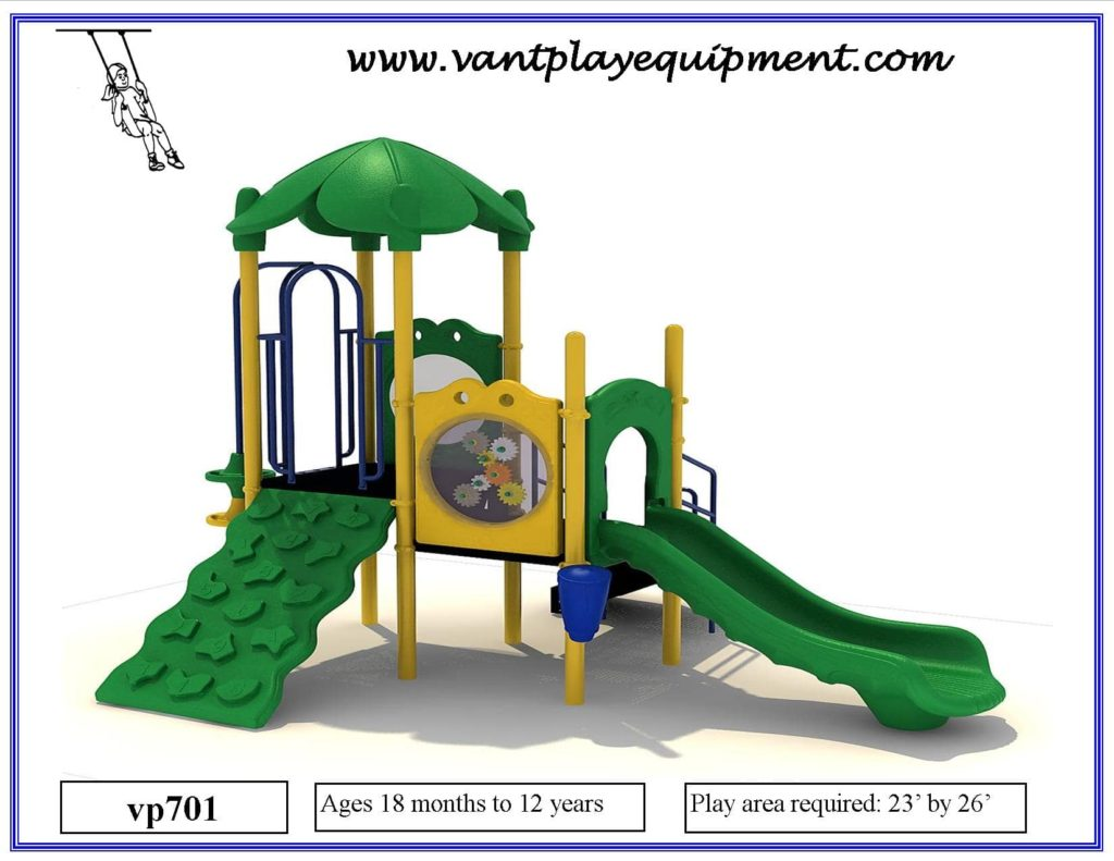 Play Equipment Medium Green