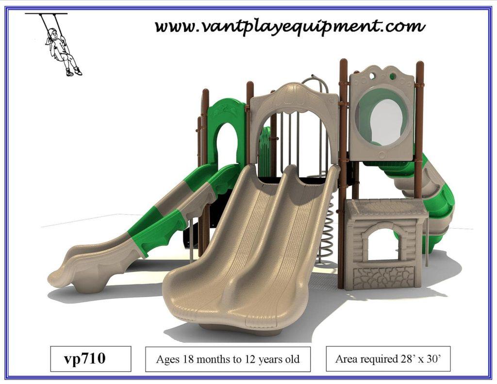 Play Equipment 4 Slides