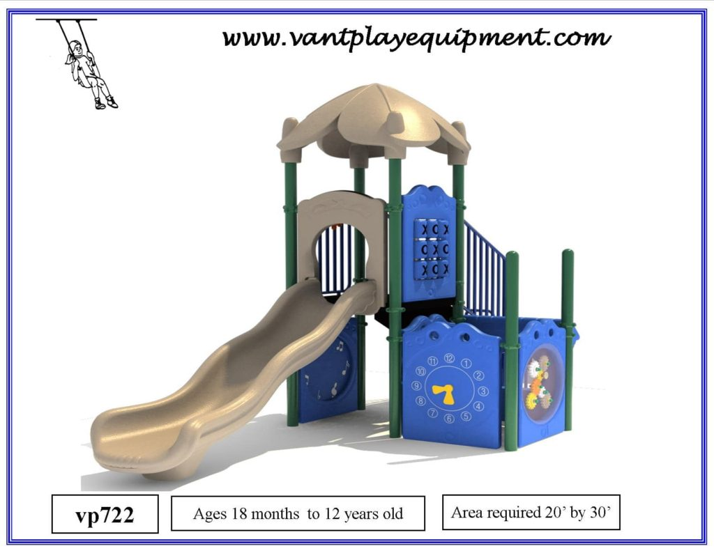 Play Equipment Small Slide